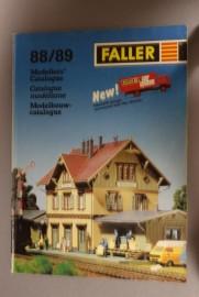 Faller catalogus 1988/1989